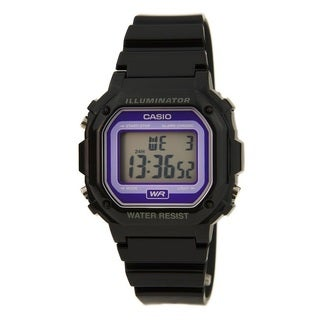 Casio F108WHC-1B Classic Casual Alarm Chrono Purple Digital Dial