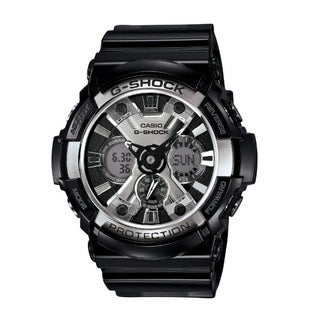 Casio Men's G-Shock XL Black Resin Band, Tough Analog/ Digital Watch