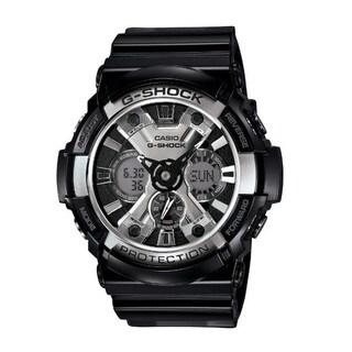 Casio Men's G-Shock XL Black Resin Band, Tough Analog/ Digital Watch