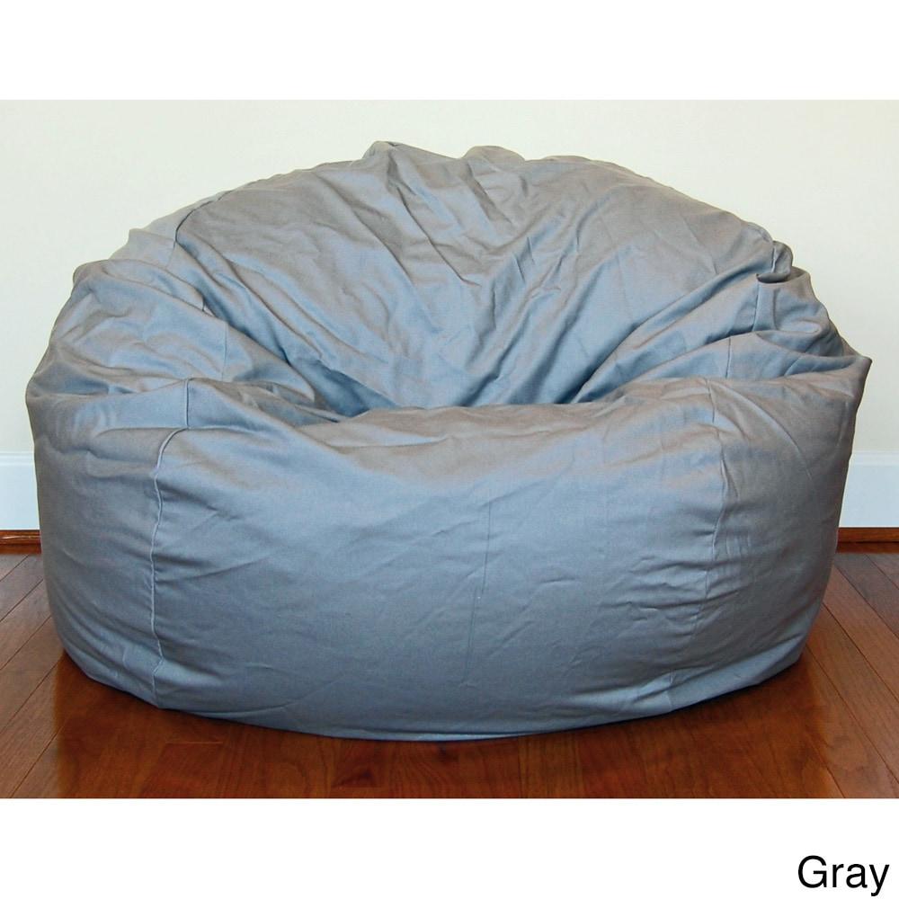 Denim 36 Inch Washable Bean Bag Chair