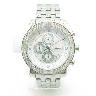Joe Rodeo Men's 'JoJino' 1/4ct Diamond Watch