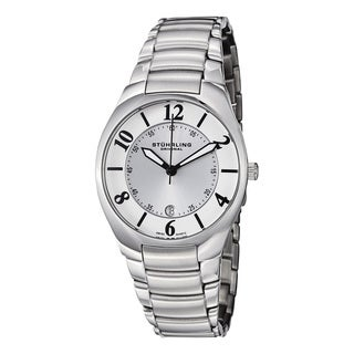 Stuhrling Original Men's Regalia Swiss Quartz Stainless Steel Bracelet Watch
