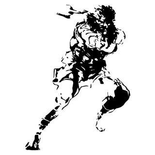 Ninja Warrior Speed Wall Art Decal
