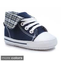 Blue Neutral Childrens 'P-Gate' Canvas Shoes
