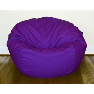Purple Cotton/ Poly Twill 36-inch Washable Bean Bag Chair|https://ak1.ostkcdn.com/images/products/8950058/Purple-Cotton-Poly-Twill-36-inch-Washable-Bean-Bag-Chair-P16161811.jpg?impolicy=medium
