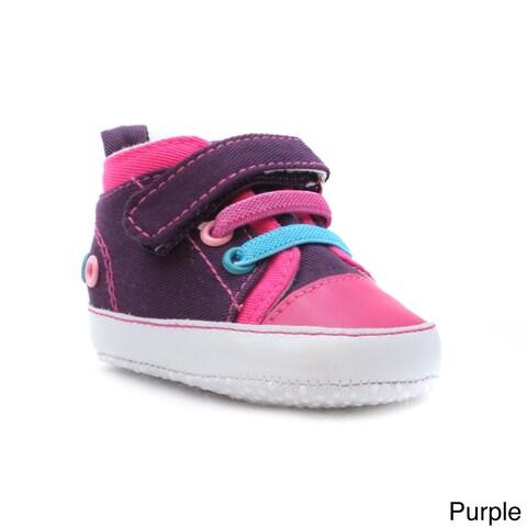 Blue Neutral 'P-Punky' Canvas Tennis Shoes