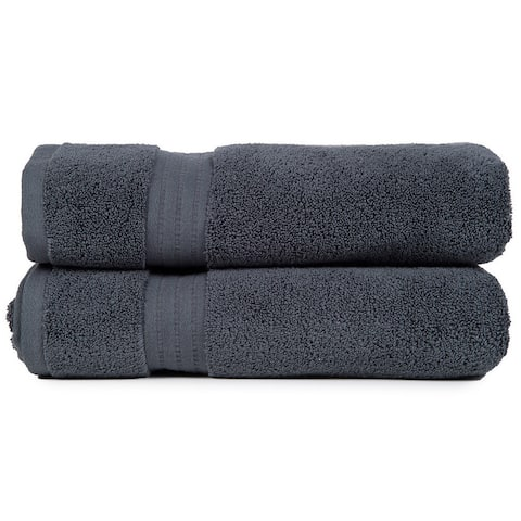 Porch & Den Paseo Zero Twist Super Absorbent Bath Towel (Set of 2)