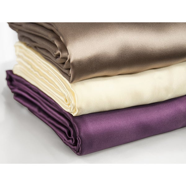 Aus Vio Silk 19 momme Luxury Sheet Separates