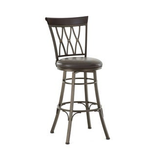 Bella 24-inch Metal Swivel Stool by Greyson Living (2 options available)
