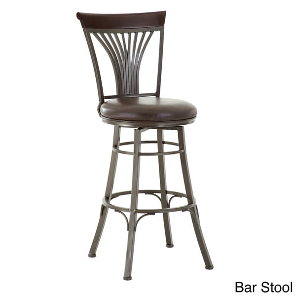 Carla 30-inch Metal Swivel Stool by Greyson Living