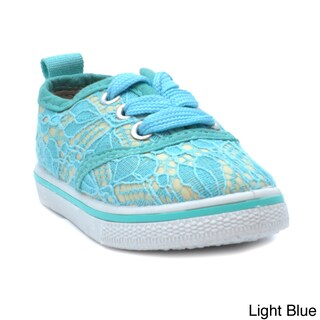 Blue Children's K-Riley Lace Sneakers (More options available)