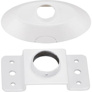 Atdec Telehook Ceiling Plate and Dress Cover Accessory for ProAV Prod