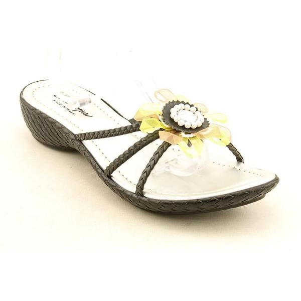 Womens leather sandals size 10