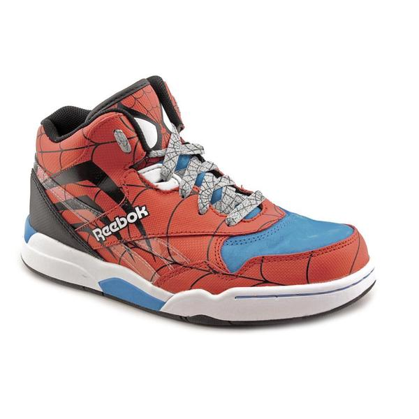 Shop Reebok Boy (Youth)  Reverse Jam Mid Spiderman  Synthetic ... af9c12d33