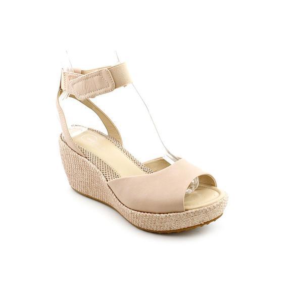 Sarah Jean' Leather Sandals - Wide