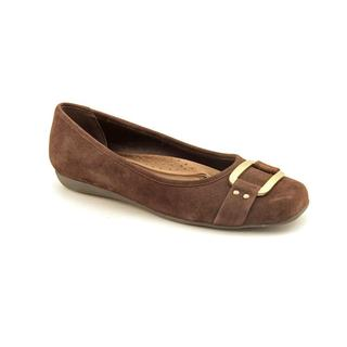 Trotters Women's 'Sizzle Signature' Regular Suede Casual Shoes - Wide (Size 9.5 )