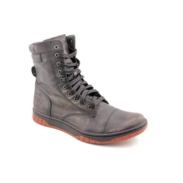 bc8bbc6a410 Shop Diesel Men's 'Basket Butch Zip ' Leather Boots (Size 12 ...