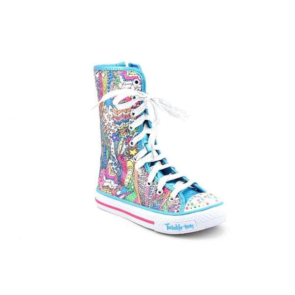 Twinkle Toes By Skechers Girl (Youth) 'Dizzy Diva' Basic Textile ...
