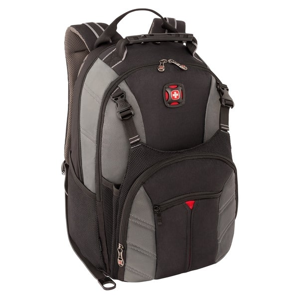 """Wenger SHERPA Carrying Case (Backpack) for 16"""" Notebook - Gray"""