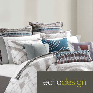 Echo Design Tribal Blocks 3-piece Comforter Set with Optional Euro Sham Sold Separately