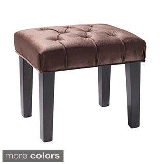 Marilyn 24-inch Button-tufted Velvet Bench