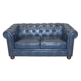 Winston Vintage Chesterfield Loveseat