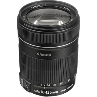 Canon EF-S 18-135mm f/3.5-5.6 Image Stabilization (IS) Lens