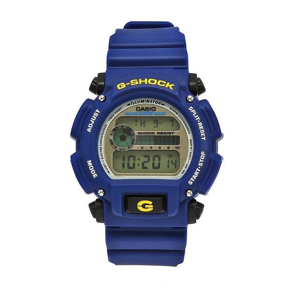 f2d5e7b3551f Shop Casio Men s G-Shock Rubber Digital Dial Watch (Blue) - Free Shipping  Today - Overstock - 8958030
