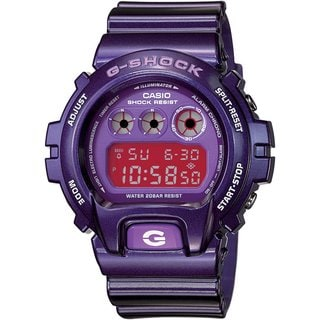 Casio Men's 'G-Shock' Metallic Purple Digital Watch
