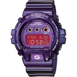 Casio Men's 'G-Shock' Metallic Purple Digital Watch (Option: Purple)