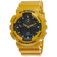 Casio Men's 'G-Shock' Yellow Watch