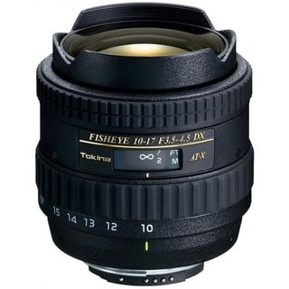 Tokina 10-17mm f/3.5-4.5 AT-X 107 DX AF Fisheye Lens for Nikon DSLR