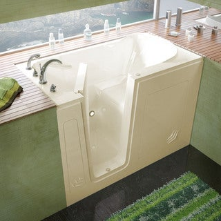 Mountain Home 30x54 Left Drain Biscuit Soaker Walk-in Bathtub
