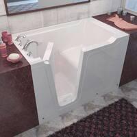 MediTub 36x60-inch Left Drain White Soaking Walk-In