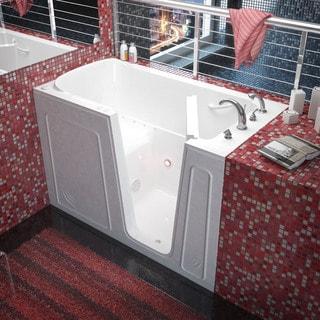 Mountain Home 32x60 Right Drain White Air Therapy Walk-in Bathtub