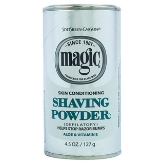 Carson Magic Skin Conditining Men's 4.5-ounce Shave Powder
