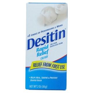 Desitin Rapid Relief 2-ounce Diaper Rash Cream