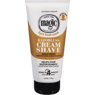 Carson Magic Razorless Smooth Men's 6-ounce Shave Cream