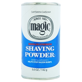 Carson Magic Regular Strength Men's 5-ounce Shave Powder