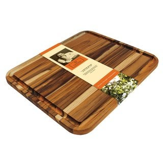 Madeira 'Mario Batali' Large Edge Grain Teak Carving Board