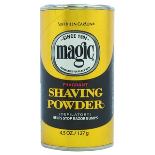 Carson Magic Gold Fragrant Men's 4.5-ounce Shave Powder
