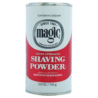 Carson Magic Extra Strength Men's 5-ounce Shave Powder