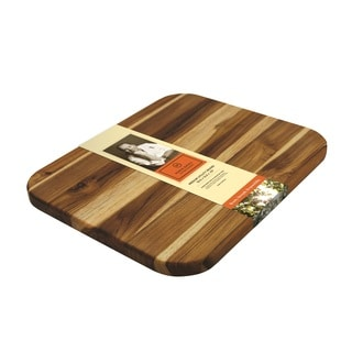 Madeira 'Mario Batali' Medium Edge Grain Teak Utility Board
