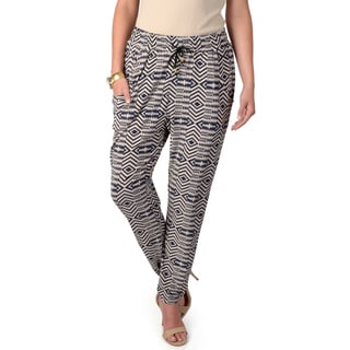 Journee Collection Women's Pocketed Drawstring Pants