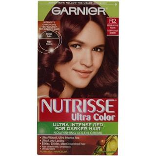 Garnier Nutrisse Nourishing R2 Medium Intense Auburn Permanent Hair Color (1 Application)