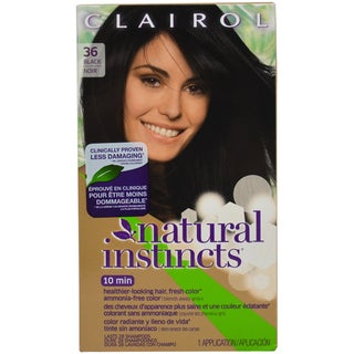 Clairol Natural Instincts Midnight Black Hair Color (1 Application)