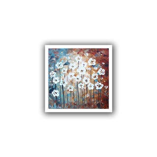 ArtWall Jolina Anthony 'Spring Blooms' Unwrapped Canvas