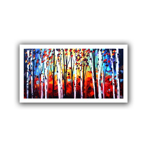 ArtWall Jolina Anthony 'Autumn' Unwrapped Canvas - Multi