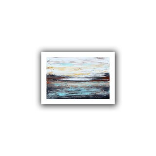 ArtWall Jolina Anthony 'Abstract Cold' Unwrapped Canvas