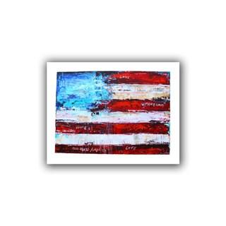 ArtWall Jolina Anthony 'America' Unwrapped Canvas - Multi